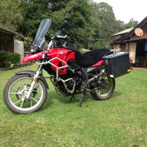 BMW650GS twin