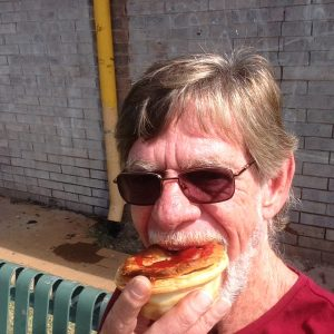 Standard Cloncurry lunch. Great bakery!