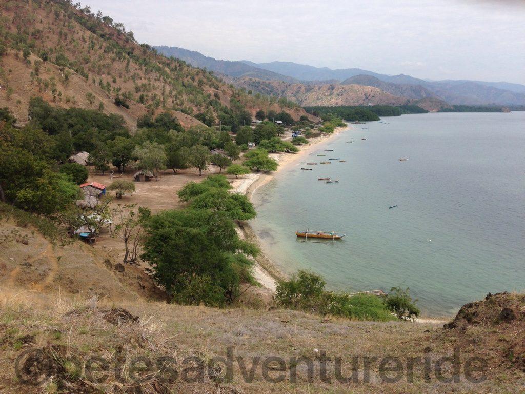 Beach east of Dili