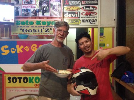 The magic Ayam Soto and the mad cook